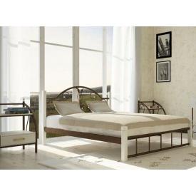 Металлическая кровать Металл-Дизайн Анжелика на деревянных ножках 1900х1400 мм