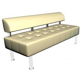 Офісний диванчик Тонус Sentenzo 1400х600 мм світлий