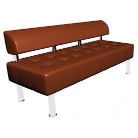 Офісний диван Тонус Sentenzo 1400х600 мм коричневий