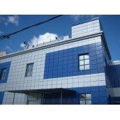 Алюмінієва композитна панель ALUMIN 1,25х5,80 м синя