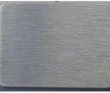 Алюминиевая композитная панель ALUMIN 1,25х5,80 м AL-001 Brushed