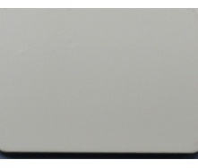 Алюминиевая композитная панель ALUMIN 1,25х5,80 м AL-106 Milk White
