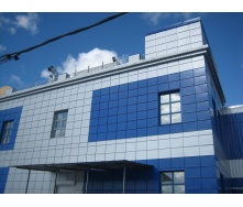 Алюминиевая композитная панель ALUMIN 1,25х5,80 м синяя