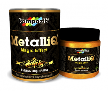 Эмаль акриловая Kompozit METALLIQ металлик 0,5 кг медь