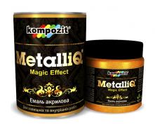 Эмаль акриловая Kompozit METALLIQ металлик 0,5 кг бронза
