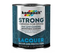 Лак для камня Kompozit STRONG 0,9 л
