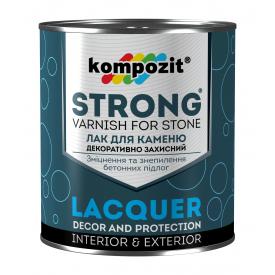 Лак для каменю Kompozit STRONG 0,9 л