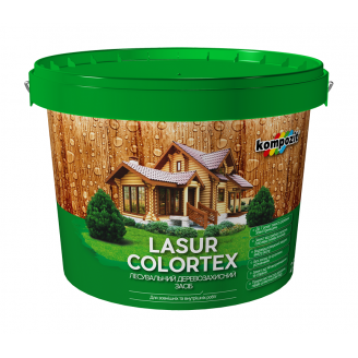 Лазурь Kompozit COLORTEX 0,9 л белый