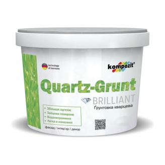 Грунтовка кварцевая Kompozit QUARTZ-GRUNT 7 кг белый