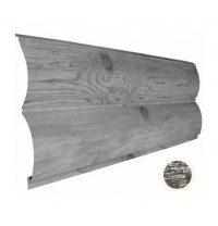 Металлический сайдинг Suntile Блок-Хаус Бревно глянец  361/335 мм дикий камень ОК 41