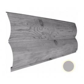 Металевий сайдинг Suntile Блок-Хаус Колода матовий 361/335 мм металік