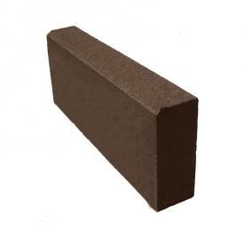 Бордюр тротуарний 500х200х60 мм коричневий