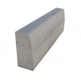 Бордюр дорожный 1000х300х150 мм серый
