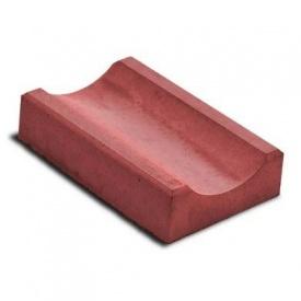 Водосток тротуарный 330х160х60 мм красный