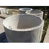 Кольцо колодца Агропромислова група КЦ 10х9 армированное 1000х890х80 мм