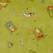 Ковролин Happy 234 2 м зеленый