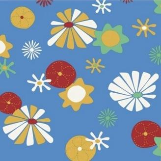 Линолеум IVC LEOLINE Bingo FLOWER 50 2 м