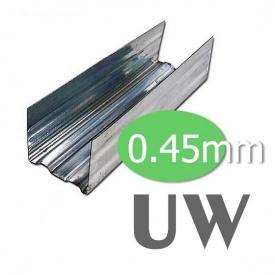 Профіль UW 3 м 0,45 мм