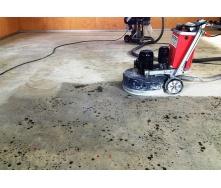 Полировка бетонного пола Зерно