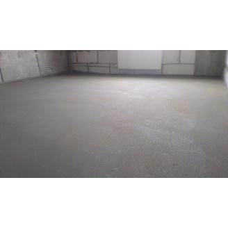 Устройство пола по бетонным плитам с фиброй 25 кг/м3 70 мм