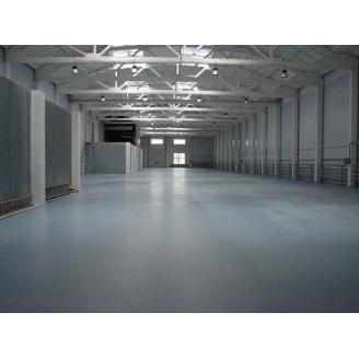 Устройство топингового бетонного пола с полипропиленовой фиброй 10 см