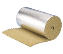 Ламельный базальтовый мат Paroc Lamella Mat Alu 1000х50 мм 50 кг/м3