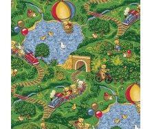 Килим Вітебські килими Малинівка дитячий 6 мм зелений