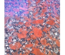 Плитка фасадная Капустинский гранит 25-30 мм малиново-красная