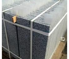Плитка фасадная Покостовский гранит 25-30 мм серая