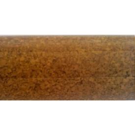 Плинтус-короб TIS без прорезиненных краев 56х18 мм 2,5 м пробка темная