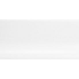 Плинтус-короб TIS с прорезиненными краями 56х18 мм 2,5 м белый