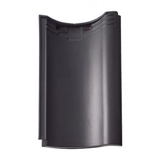 Черепица Braas Агат Ангоба 470х291 мм антрацит