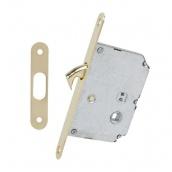 Механизм с ответной планкой для раздвижных дверей RDA 4120 PB полированная латунь