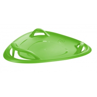 Санки-ледянка Plastkon Meteor 70 см зелена