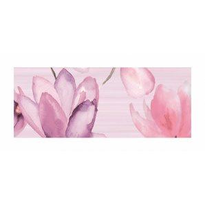 Декор для плитки Golden Tile Flora 200х500 мм розовый (1В5311)