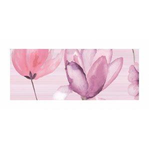 Декор для плитки Golden Tile Flora 200х500 мм розовый (1В5331)