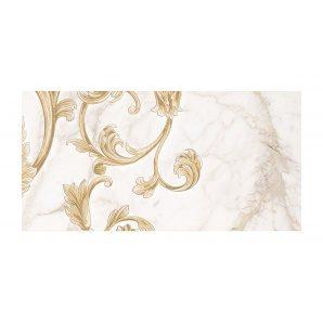 Декор для плитки Golden Tile Saint Laurent №4 300х600 мм белый