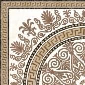 Керамическая плитка Golden Tile Meander Rosette 400х400 мм бежевый
