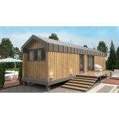 Дом по проекту Mobile из сип-панелей 30 м2