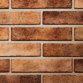Клінкерна плитка Golden Tile BrickStyle Seven Tones 250х60х10 мм помаранчевий (34Р020)