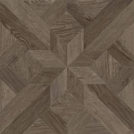 Плитка Golden Tile Dubrava 604х604 мм коричневий