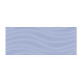 Керамическая плитка Golden Tile Volna 200х500 мм голубой