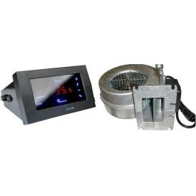 Комплект автоматики Kg Elektronik CS-19 с вентилятором WPA-120 для твердотопливного котла 83 Вт