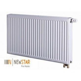 Стальной панельный радиатор NEW STAR  низ 11х500х1800 мм