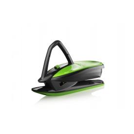 Санки Plastkon Skidrifter 75х46х31 см чорні з зеленим