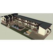 Проект здания KD-13 Гостиница 13 315 м2