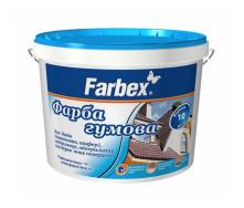 Краска резиновая Farbex 1,2 кг