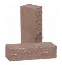 Кирпич облицовочный РуБелЭко Дикий камень полнотелый 250х100х65 мм шоколад (КСЛА5)