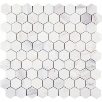 Мозаика мраморная VIVACER SB11, 300x300 мм