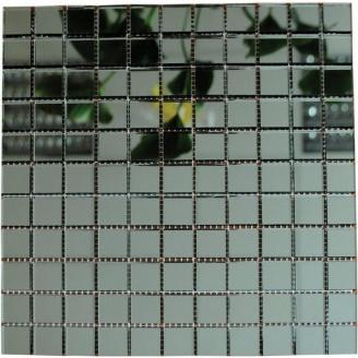 Мозаика зеркальная на сетке VIVACER ZS-3, 25х25 мм